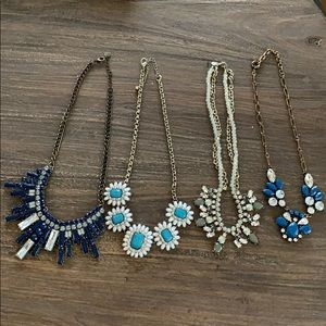 Cute necklaces from the Limited and Loft